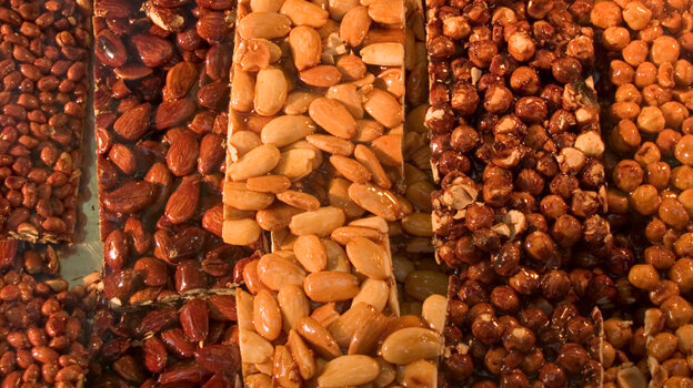 Nuts are a common source of true food allergy.