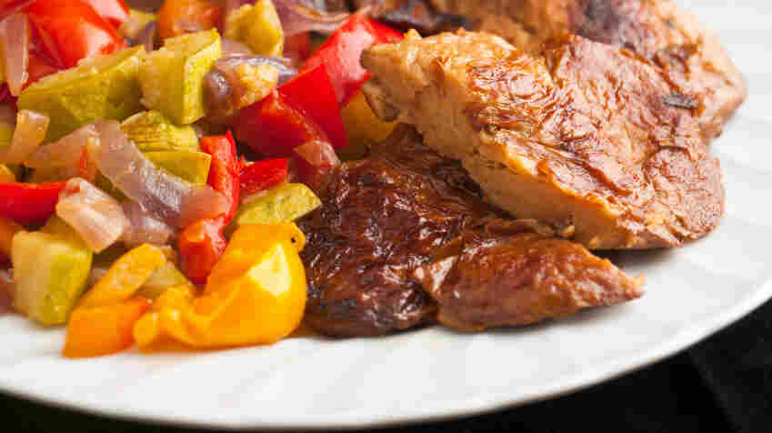 Meat substitutes like seitan made from wheat gluten are becoming more palatable.