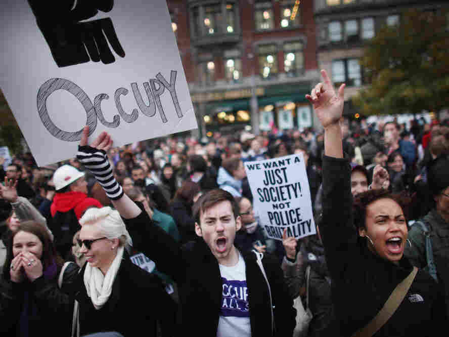 occupy demonstrators