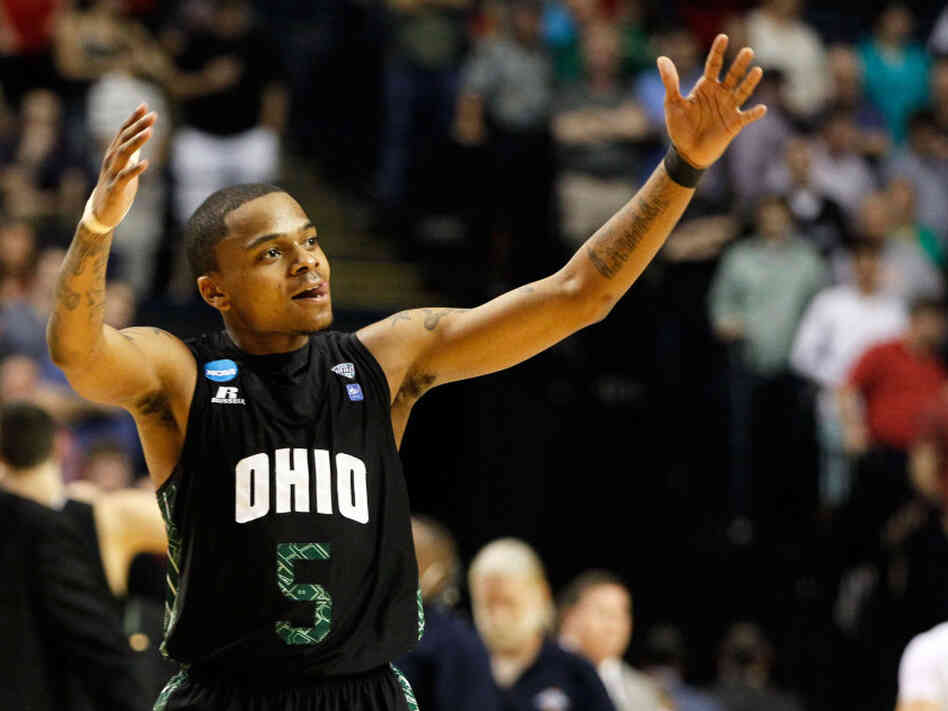 D.J. Cooper of the Ohio Bobcats during Sunday's victory over South Florida, in Nashville.