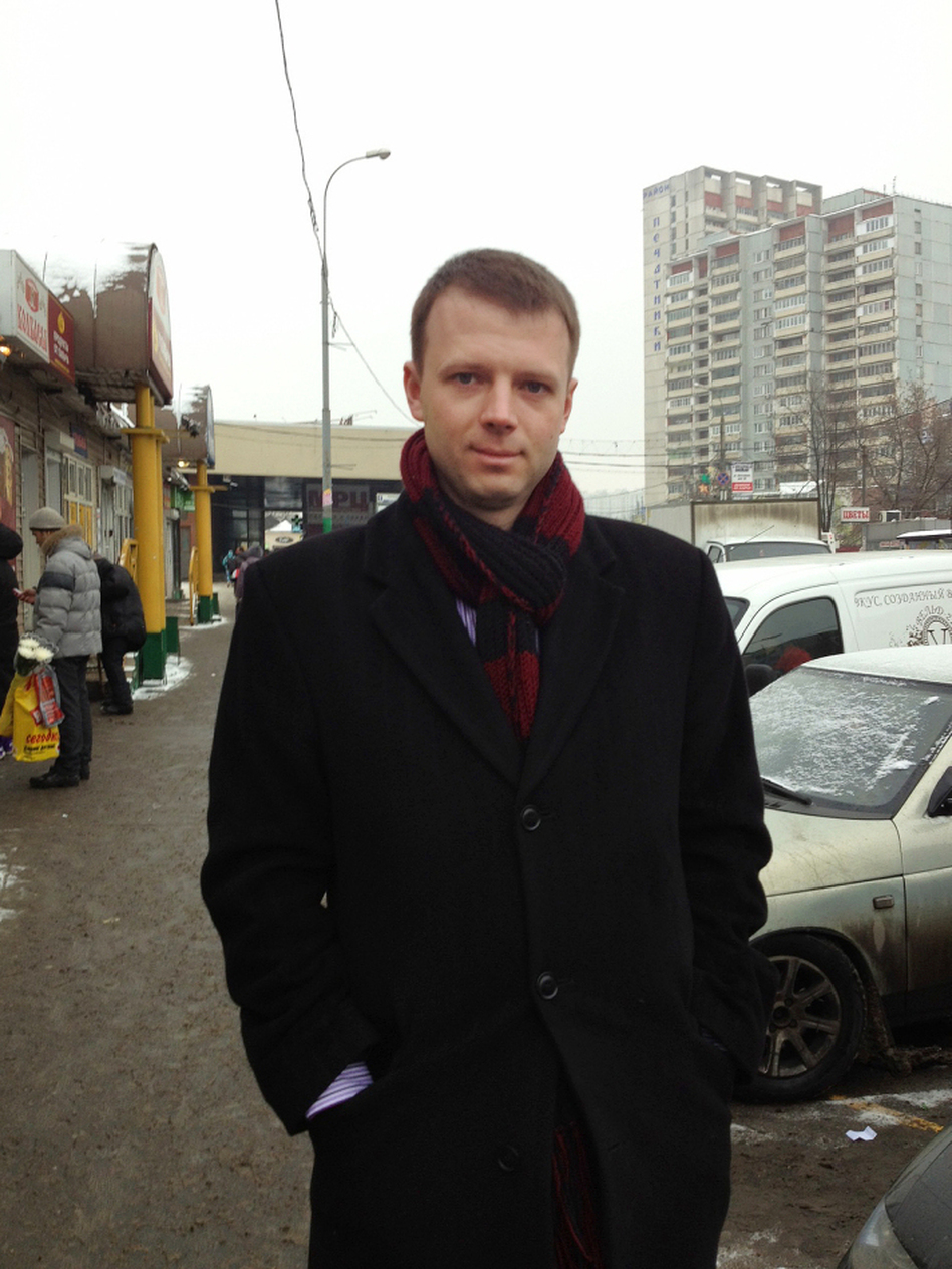 Maxim Motin, 28, was elected to a municipal council in Pechatniki, his working class district in Moscow.