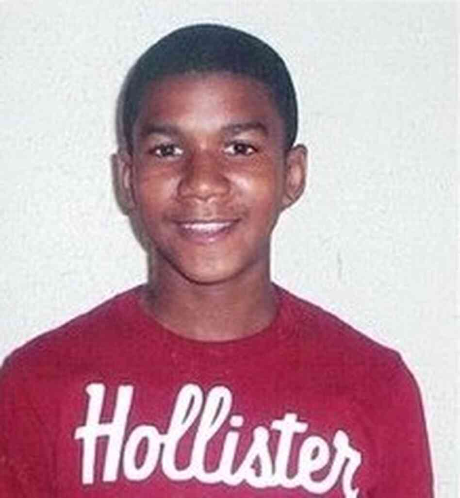 An undated family photo of Trayvon Martin.