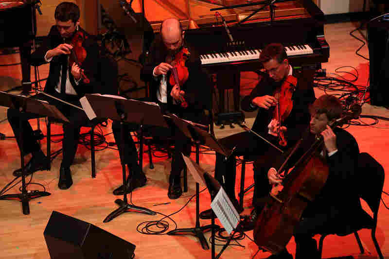 Deacon, the Calder Quartet and the NOW Ensemble joined forces for 'An Opal Toad with Obsidian Eyes.'.