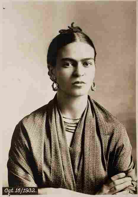 Frida at four stages of her life, 1932