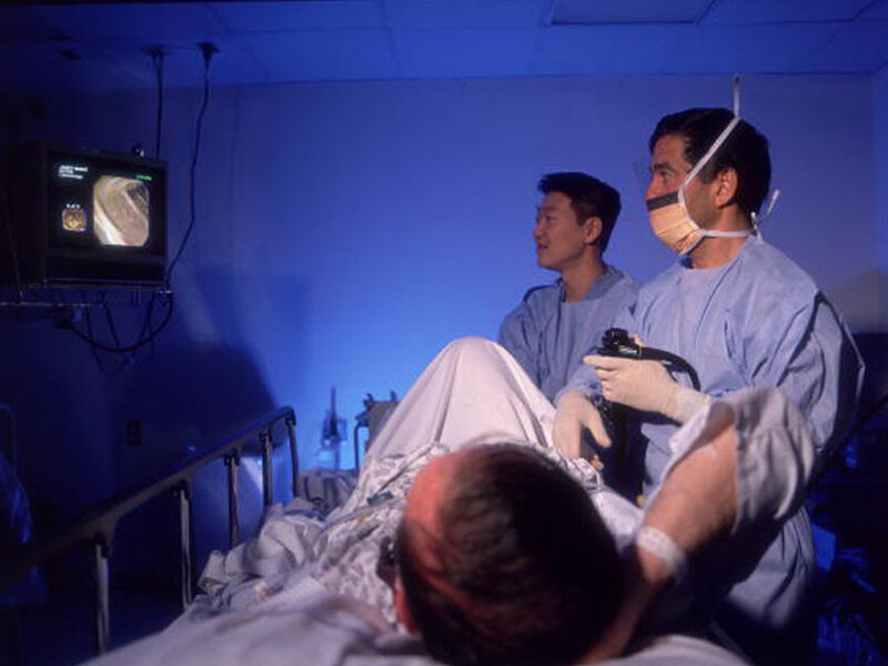 Is Anesthesia A Luxury During Colonoscopy? : Shots - Health
