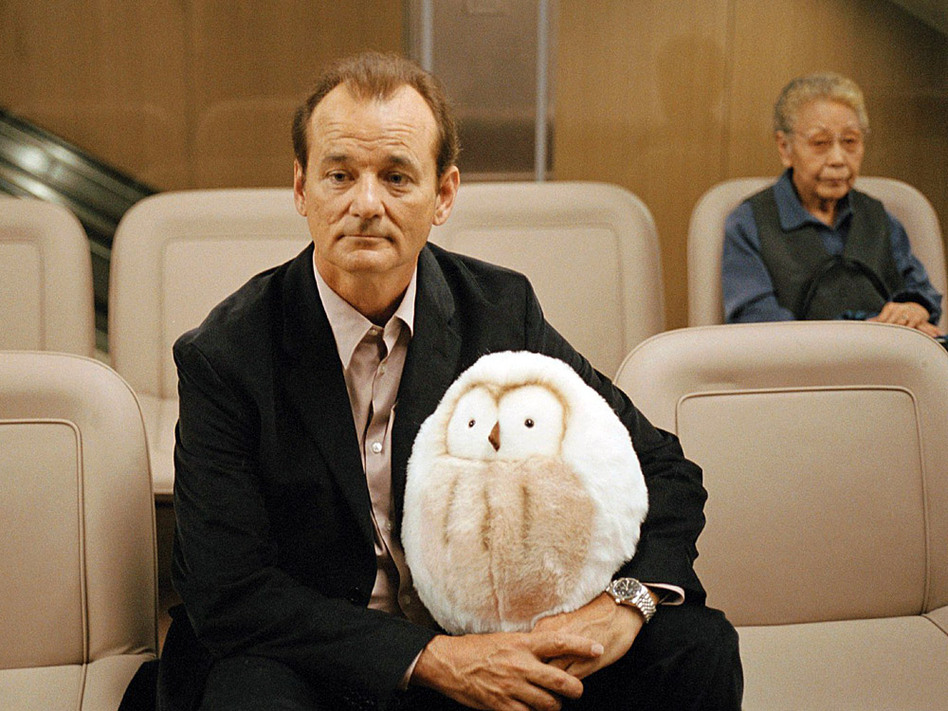 What does Bill Murray learn when Lost in Translation ends? (Focus Features)