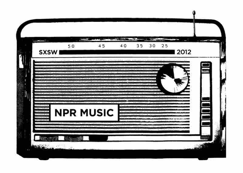 The NPR Music graphic for SXSW 2012.