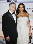 Actor Robert De Niro with his wife, Grace Hightower, in Washington, D.C., on Dec. 4, 2011.