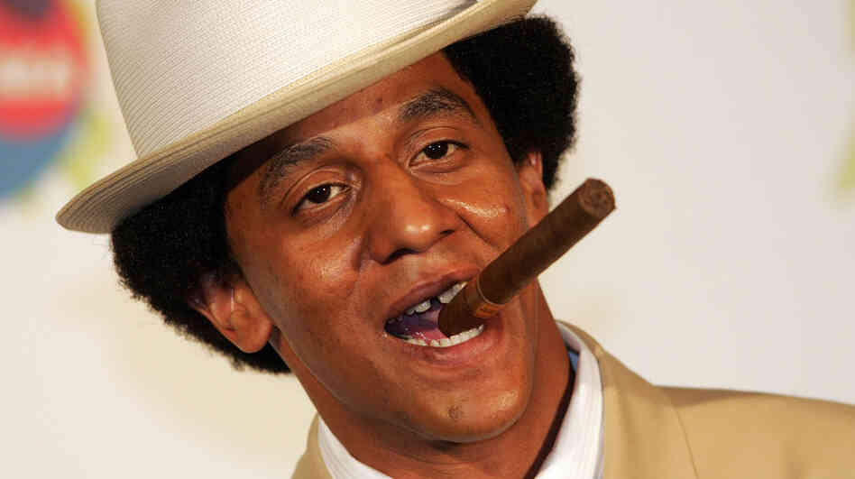 Reggaeton artist Tego Calderon is a favorite of hosts Jasmine Garsd and Ernesto Lechner.
