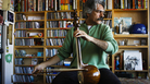 Kayhan Kalhor performs a Tiny Desk Concert at the NPR Music offices in Washington D.C., on January 30, 2012.