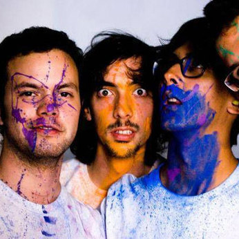 La Vida Boheme, in all their paint-splattered, rump-shakin' glory -- just one of the artists you will hear on Alt.Latino Radio.