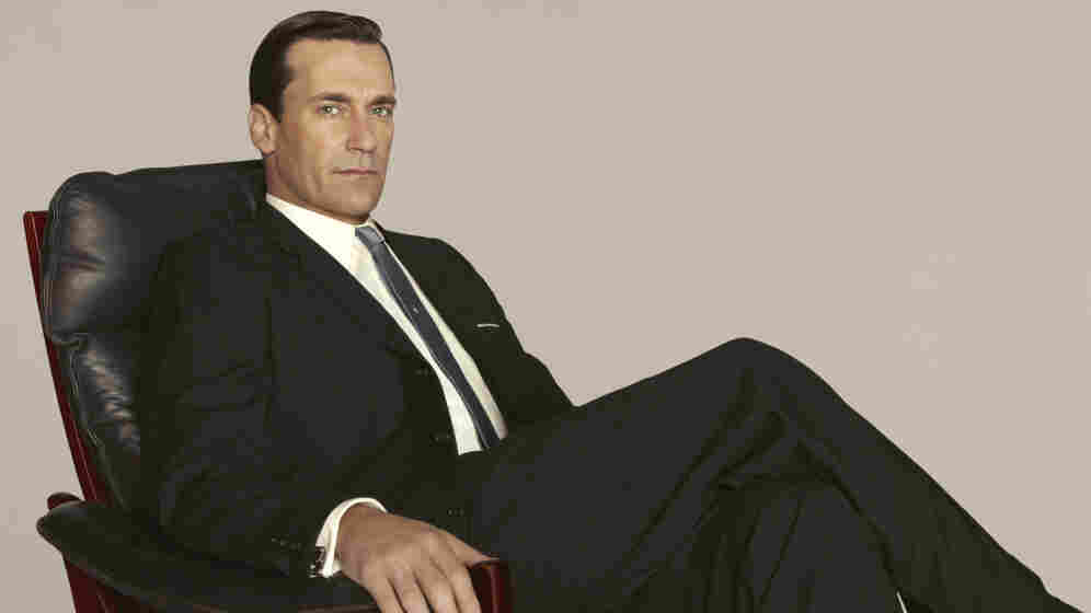 Don Draper, played by Jon Hamm, celebrates his 40th birthday in the fifth season of Mad Men.