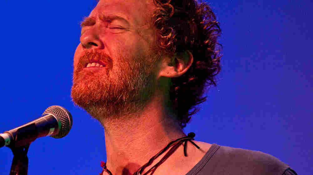 """Glen Hansard performs as part of KUT's """"Live at the Four Seasons"""" sessions in Austin during SXSW."""