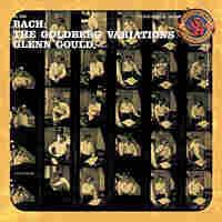 The Cover of Glenn Gould's breakthrough Bach LP.