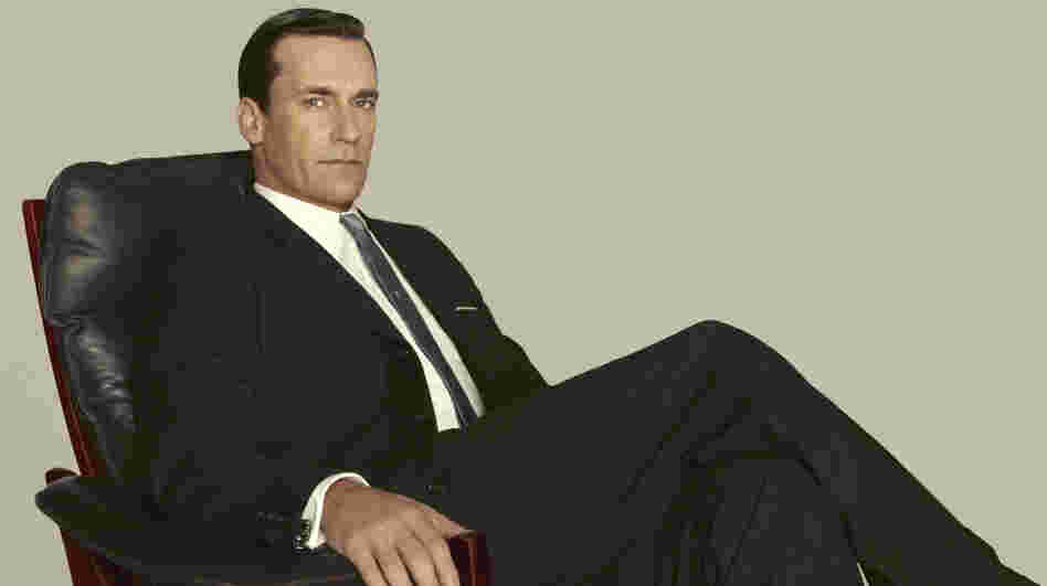 Jon Hamm plays Don Draper on Mad Men, which returns this Sunday night.