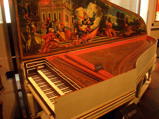 Andreas Staier plays Bach's Goldberg Variations on a copy of this famously grand harpsichord built in 1734 by Hieronymus Albrecht Hass currently housed in Hamburg, Germany.
