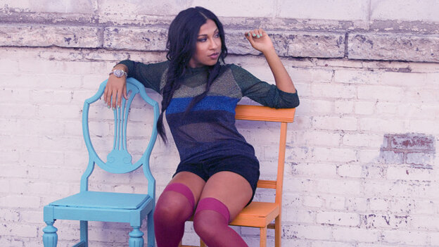 Melanie Fiona's new album is titled The MF Life.