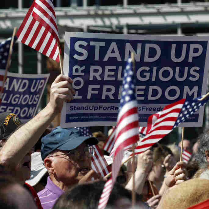 Thousands Rally For Religious Freedom Nationwide