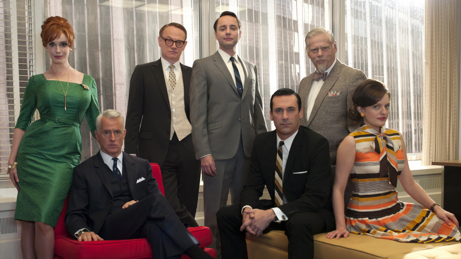 The staff of Sterling Cooper Draper Pryce returned to TV on Sunday night. Mad Men is now set in 1966, seven months after the final episode of Season 4. (AMC)