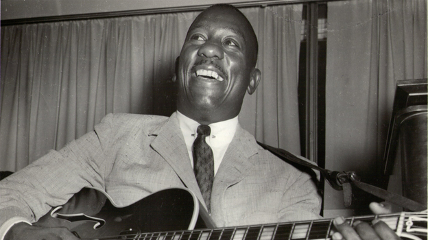 The new compilation Echoes of Indiana Avenue collects rare early recordings by jazz guitarist Wes Montgomery. (Duncan Schiedt)