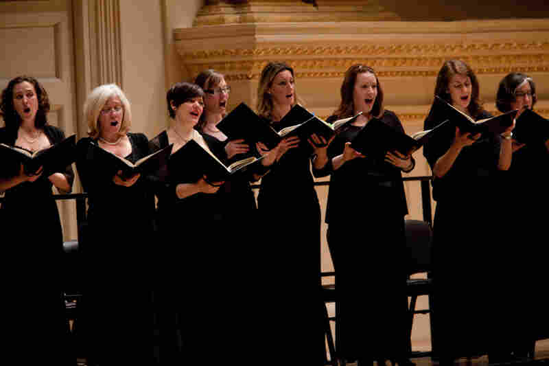 The chorus has several jobs, including taking on the role of the crowds. Plus, they sing the chorales which the congregation, in Bach's time, might have joined in on.