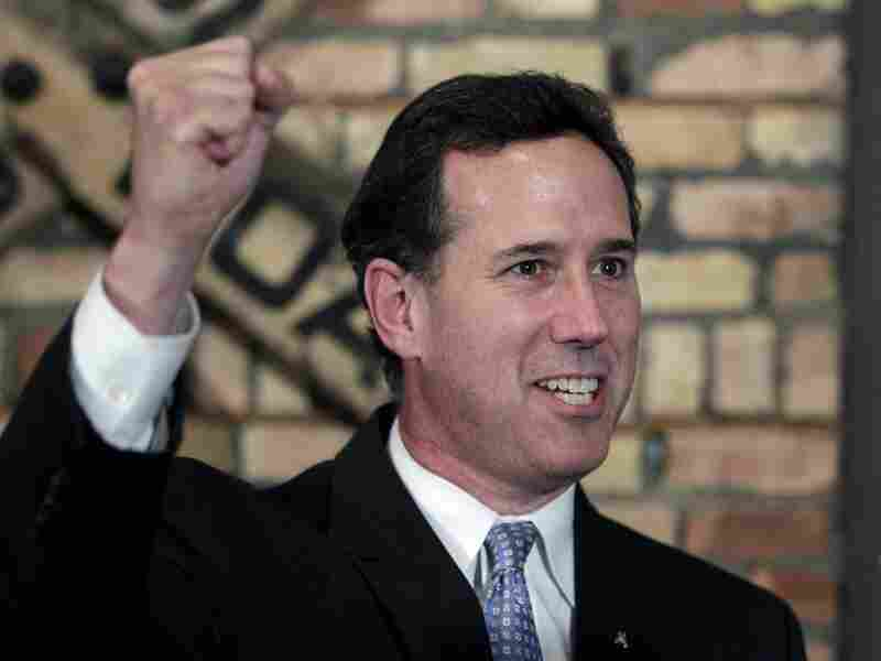 Rick Santorum won the Louisiana Republican presidential primary Saturday, beating front-runner Mitt Romney in the race to challenge President Obama.