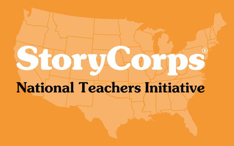 StoryCorps' National Teachers Initiative