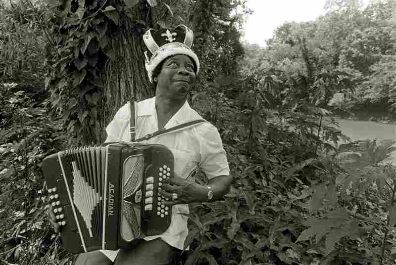 Good Rocking Doopsy, the King of Zydeco, Lafayette, La., 1996