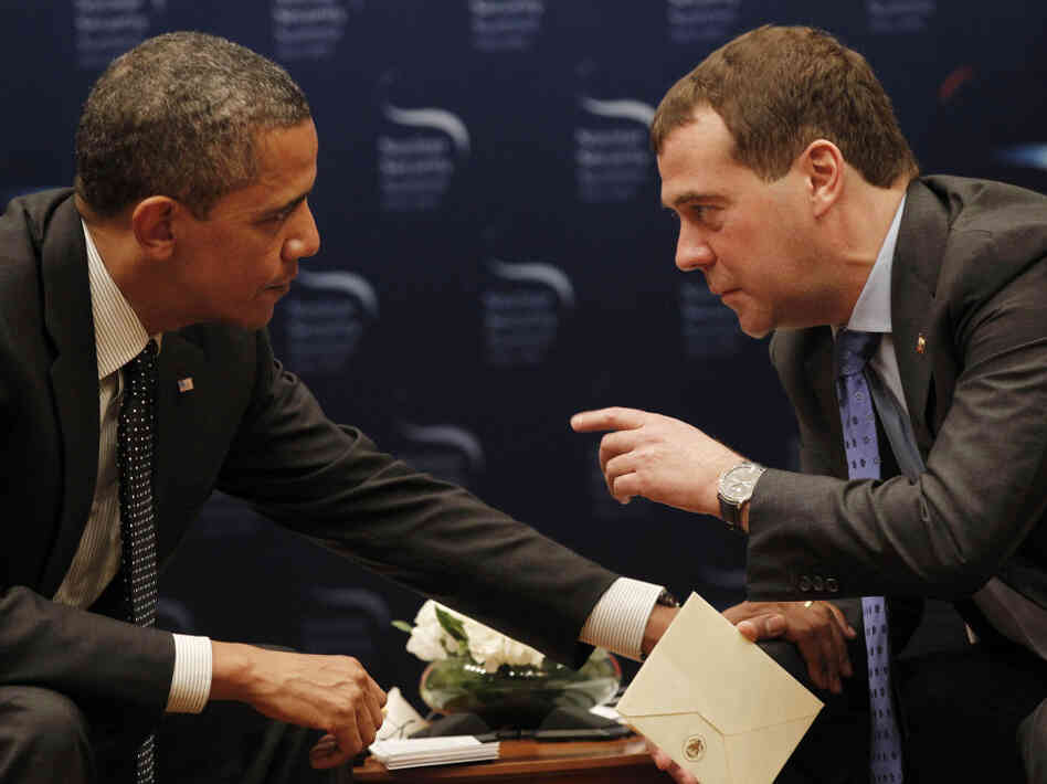 President Obama unwittingly made some not-so-private comments to Russian President Dmitry Medvedev at a Seoul, South Korea security summit.