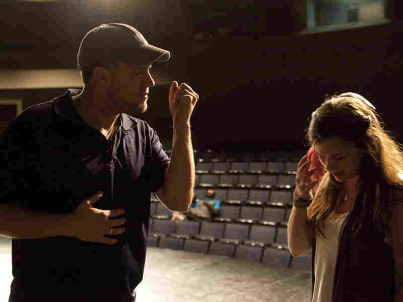 October Baby co-director Jon Erwin speaks to lead actress Rachel Hendrix.