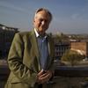 Author and evolutionary biologist Richard Dawkins at NPR headquarters in Washington, D.C., on Mar. 22.