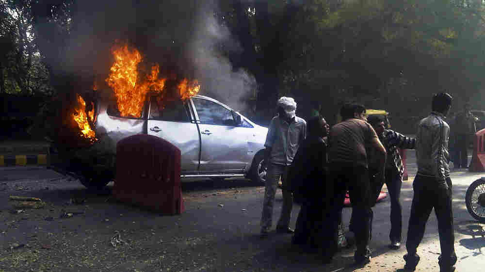 U.S. officials are looking more closely for signs of state-sponsored terrorism these days. In this attack, Israel blamed Iran for bombing a car belonging to the Israeli Embassy in New Delhi, India, on Feb. 13. The wife of an Israeli diplomat was injured. Iran denied it was involved.
