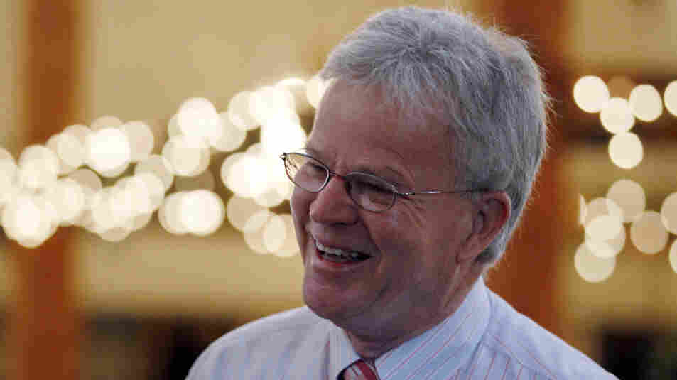 Former Louisiana Gov. Buddy Roemer, shown here last summer in Bedford, N.H., is now seeking the presidential nomination of two third parties.