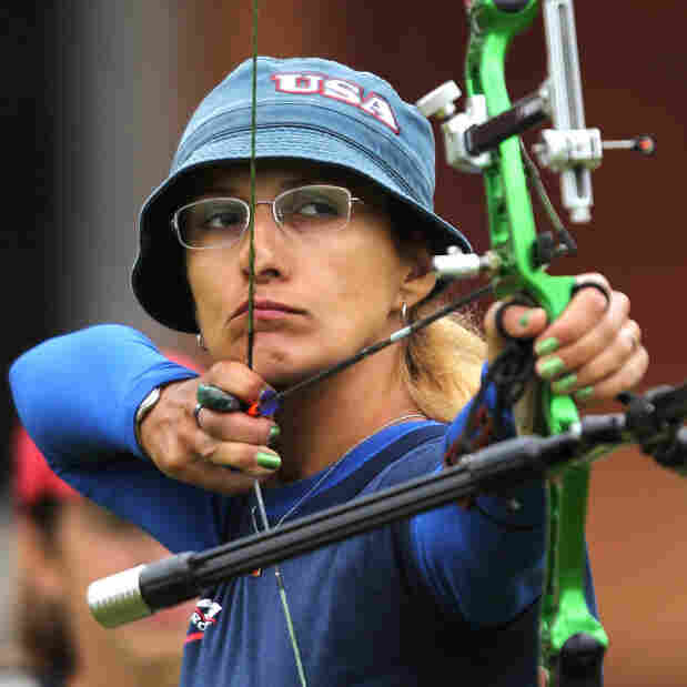 After 'Hunger Games,' U.S. Archer Shoots For Olympic Games