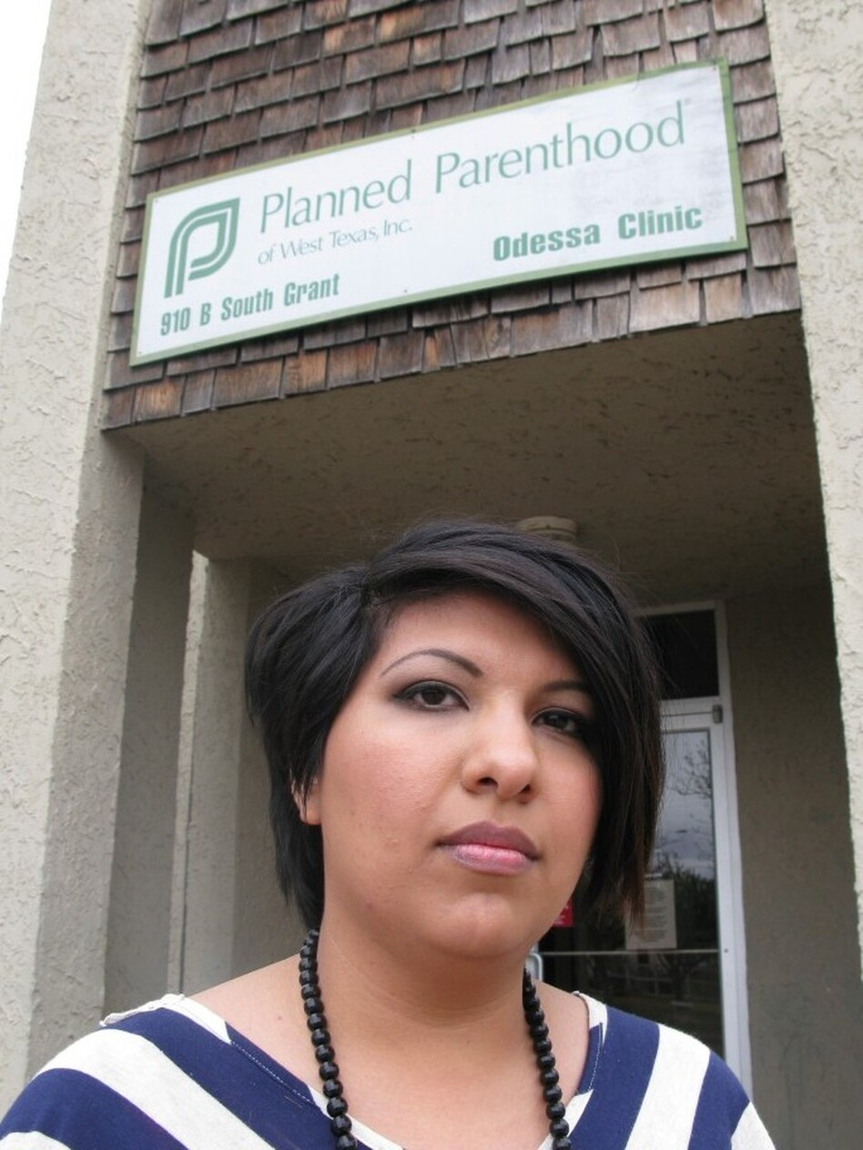 Rene Resendez, a 24-year-old uninsured graduate student, used to be a client at the Planned Parenthood in Odessa, Texas, which closed earlier this month because of state budget cuts.