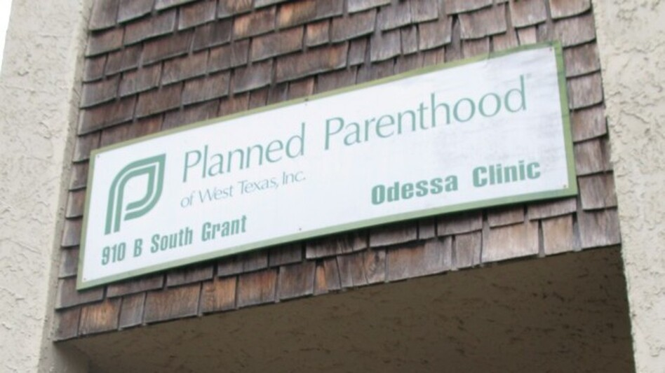 Rene Resendez, a 24-year-old uninsured graduate student, used to be a client at the Planned Parenthood in Odessa, Texas, which closed earlier this month because of state budget cuts. (NPR)