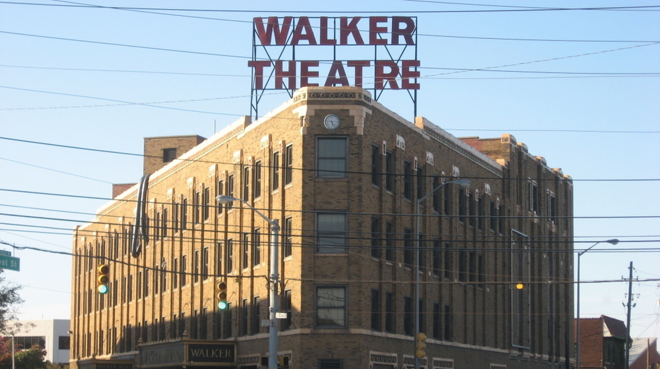 The Madame Walker Theater is one of the surviving iconic buildings on Indiana Avenue. (Public domain via Wikimedia Commons)