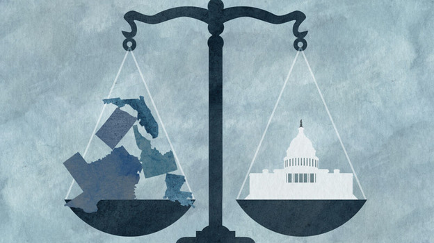 The final argument the Supreme Court will hear about the new health care law is whether its Medicaid expansion unfairly forces states to participate.  (NPR)