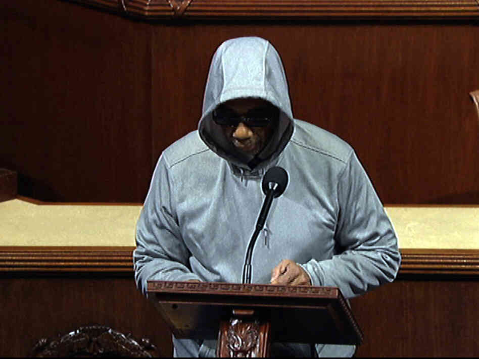 Rep. Bobby Rush who, like Trayvon Martin's parents, lost a son to gun violence.