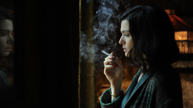 Rachel Weisz plays the adulterous Lady Hester Collyer in The Deep Blue Sea, turning in a  performance as luminous as a Pre-Raphaelite portrait. (Music Box Films)