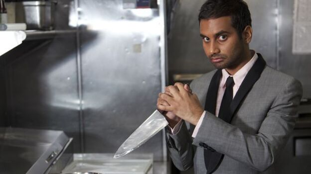 Aziz Ansari dissects a variety of topics in his latest comedy special, Dangerously Delicious.  (Courtesy of Aziz Ansari)