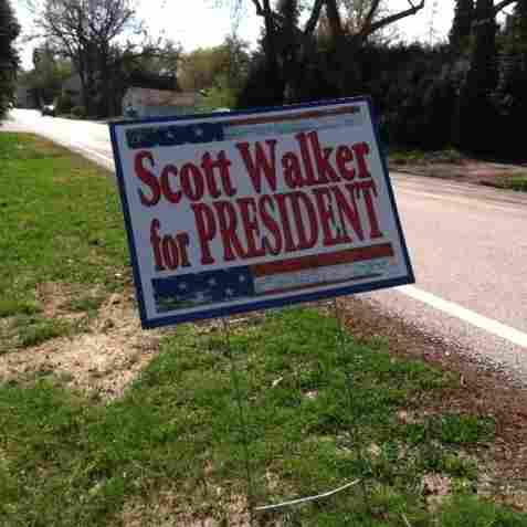Wisconsin Gov. Scott Walker's future is a bigger deal to many in his state than Tuesday's presidential primary.