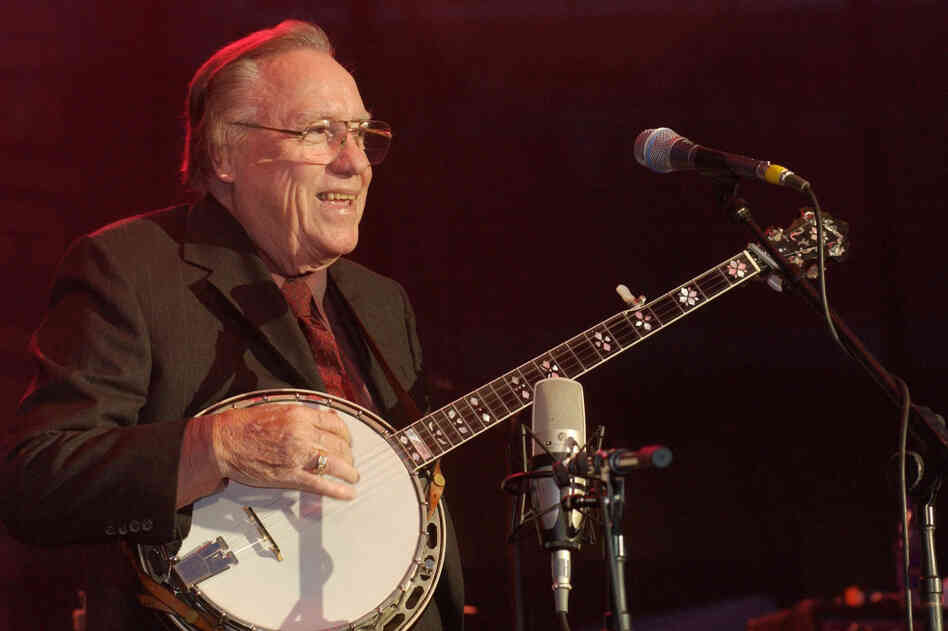 Earl Scruggs performs in Nashville, Tenn. in 2002.
