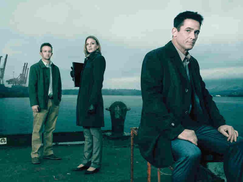 Jamie Wright (Eric Ladin), Gwen Eaton (Kristin Lehman) and Darren Richmond (Billy Campbell) return in AMC's The Killing.