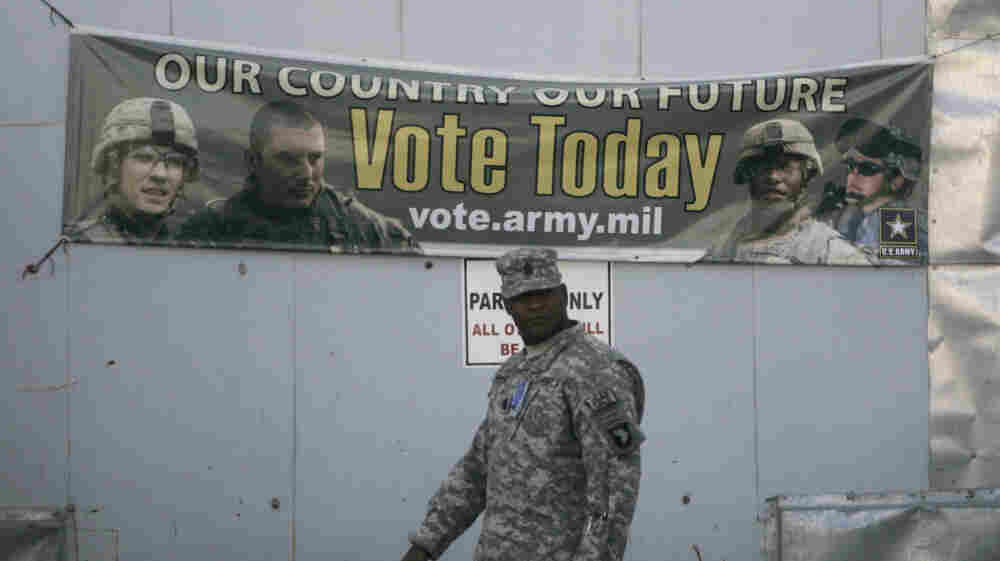 A government cybersecurity expert warns against new moves by state election officials to accept online overseas ballots, like those from deployed U.S. troops.
