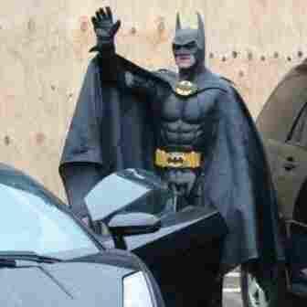 Maryland's Batman Looks Like A Real Hero
