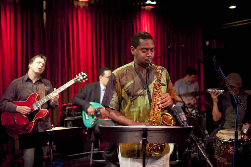 Yosvany Terry and the New Cuban Express band.