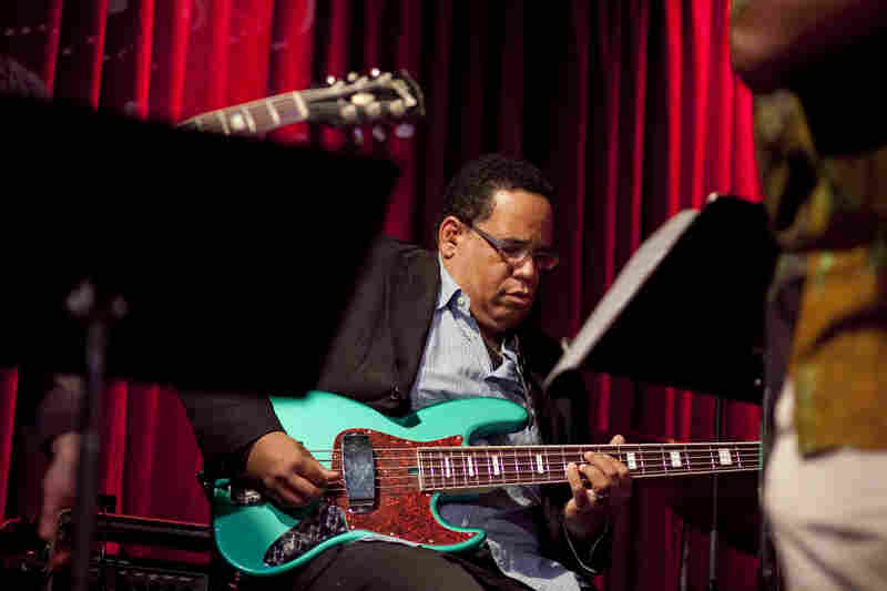 John Benitez on bass.