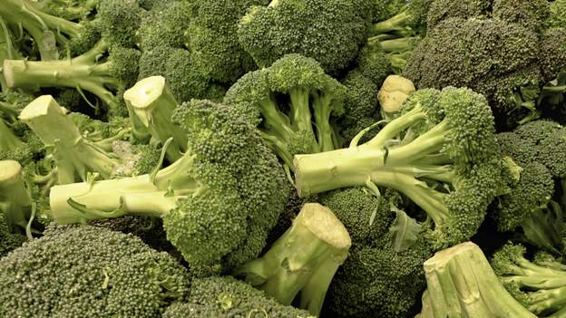 The broccoli was flying this week in the Supreme Court. (AP)