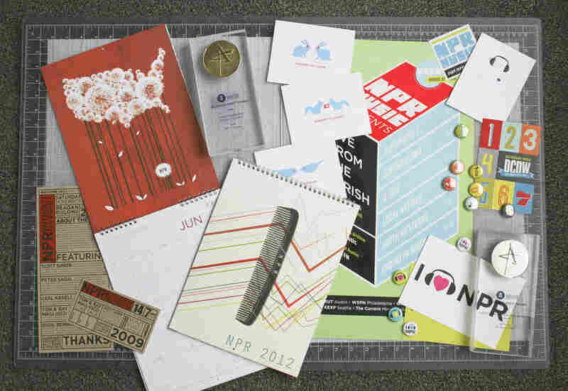 NPR's Creative Services team compiled all of its award-winning design work into a collage for the 'This is NPR' blog.